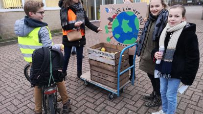 Sint-Franciscus laat leerlingen en ouders nadenken over milieuvriendelijke maatregelen