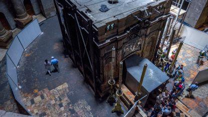 Renovatie van graf van Jezus in Jeruzalem begonnen