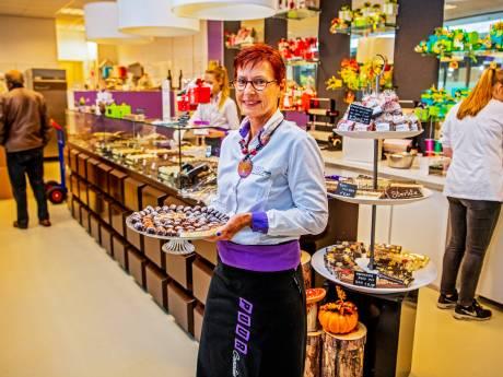 Weduwe chocolaterie: 'Trots als hij bonbons had gemaakt'