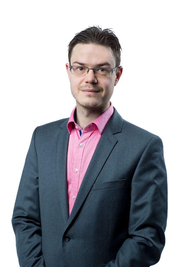 Maarten Selten, nieuw gemeenteraadslid voor D66 Helmond.