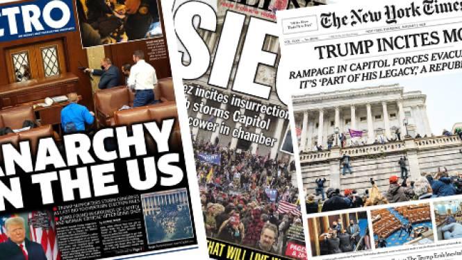 """""""Anarchie in de Verenigde Staten"""": dit schrijven internationale kranten over bestorming Capitool"""