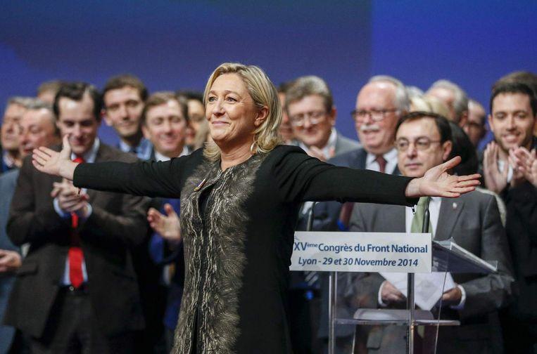 Marine Le Pen. Beeld reuters