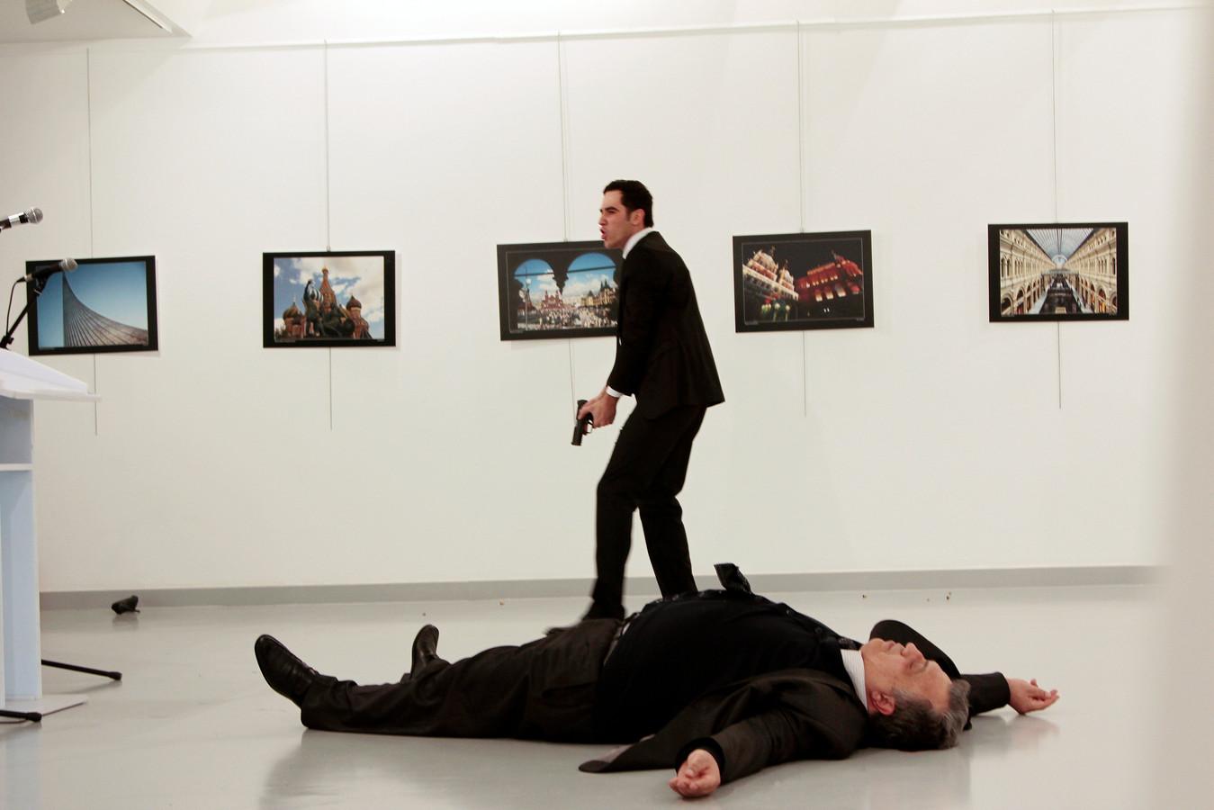 Mert Altintas maakte op 19 december 2016 met negen kogels een einde aan het leven van de Russische ambassadeur Andrej Karlov.
