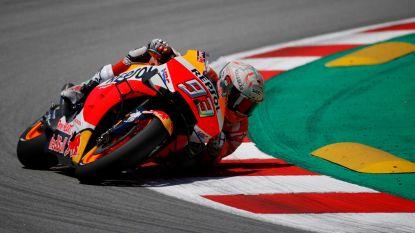Marc Marquez pakt de zege in GP van Catalonië