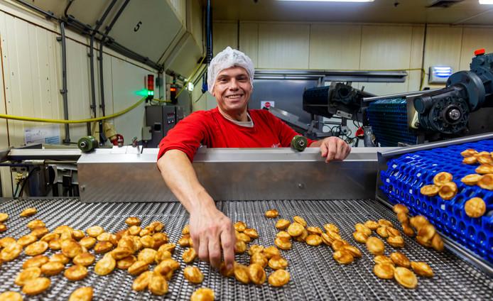 Johan van Sluijsdam is industrieel bakker.