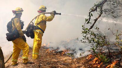 Evacuaties door bosbranden in Zuid-Californië