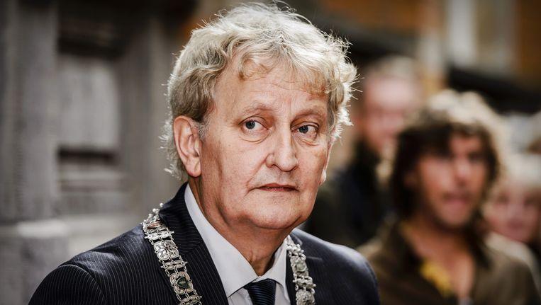 Van der Laan: 'it comes with the job.' Beeld anp