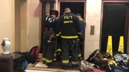 Man verpletterd door lift in New York