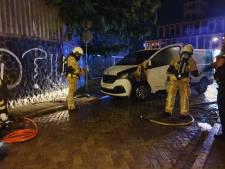 Weer een autobrand in Hengelo
