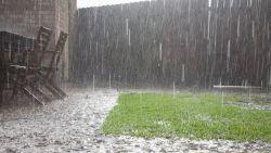 Regen veroorzaakt lokale overstromingen in Henegouwen