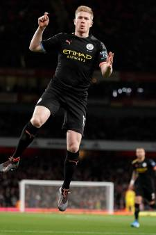 Un doublé et un assist contre Arsenal: la nouvelle masterclass de Kevin De Bruyne