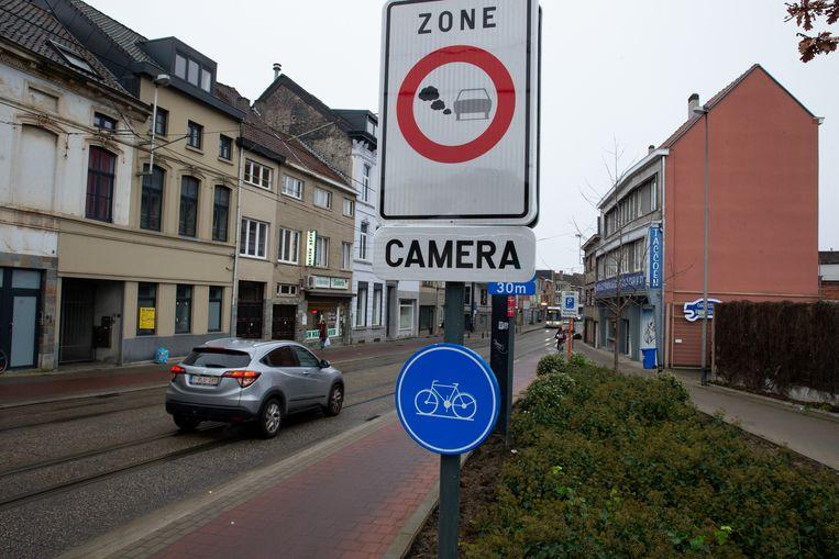 Beeld ter illustratie, LEZ in Gent.