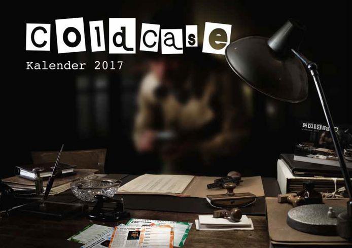 De cover van de coldcase-kalender van 2017.