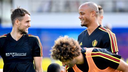 """WK LIVE. Morgen beslissing of medisch fit verklaarde Kompany zal spelen tegen Engeland, Martínez laat 'gele' jongens zeker langs de kant en """"wisselt misschien wel de hele ploeg"""""""