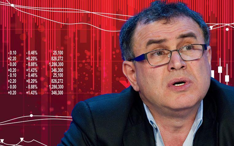 """""""Centrale banken zullen machteloos staan"""", voorspelt Roubini."""
