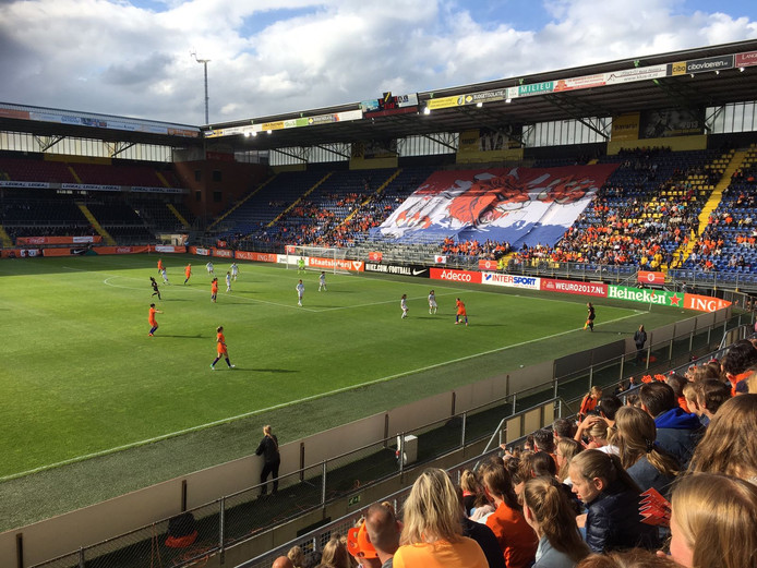 Nederland-Japan in Breda.