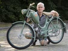 Eibergenaar Wim Memelink is met brommer terug in zijn jeugdjaren
