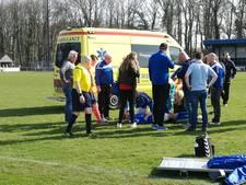 Duel tussen Eilermark en De Tubanters onderbroken wegens ernstige blessure