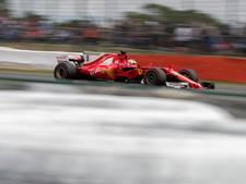 Leeglopende voorband kostte Vettel podiumplek