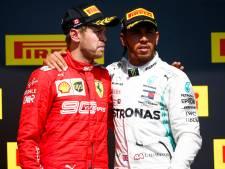 WK-klassement: Verstappen loopt punt in op Vettel, Hamilton neemt nog meer afstand