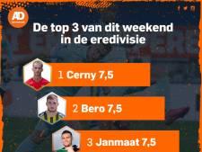 Janmaat maakt indruk bij comeback in eredivisie, Van Hecke zakt door ondergrens