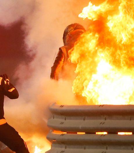 Grosjean spreekt voor het eerst na horrorcrash: 'Ik keek de dood in de ogen'