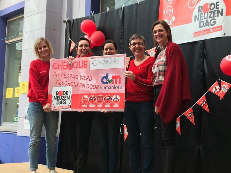 DvM Humaniora haalde bijna 5.000 euro op.