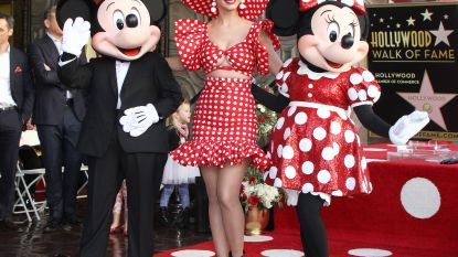 Katy Perry, Heidi Klum en Minnie Mouse vieren haar ster op de Hollywood Walk of Fame