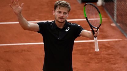 Geen positiewissels in top tien ATP-ranking, Goffin blijft negende