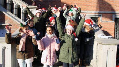 Klimaatbende basisschool De Ark zingt voor beter klimaat