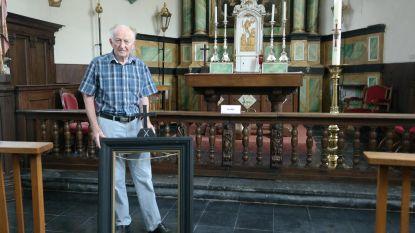 Vijf schilderijen gestolen uit kerk