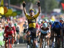 Deuxième victoire d'étape pour Wout van Aert, plusieurs favoris piégés par des bordures