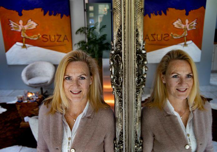 Suzanne Beyer-van Griensven,  oud-ballerina en huidige mental coach, in haar praktijk SUZA in Leende.