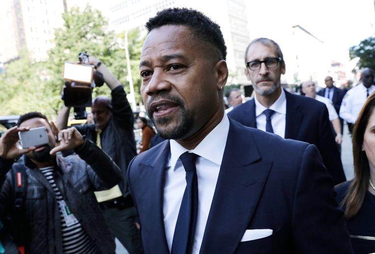 Cuba Gooding Jr verlaat de rechtbank