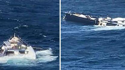 Luxezeiljacht van Italiaanse miljardair valt van vrachtschip en zinkt in zee