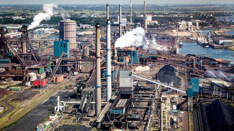 Tata Steel. Beeld Arie Kievit