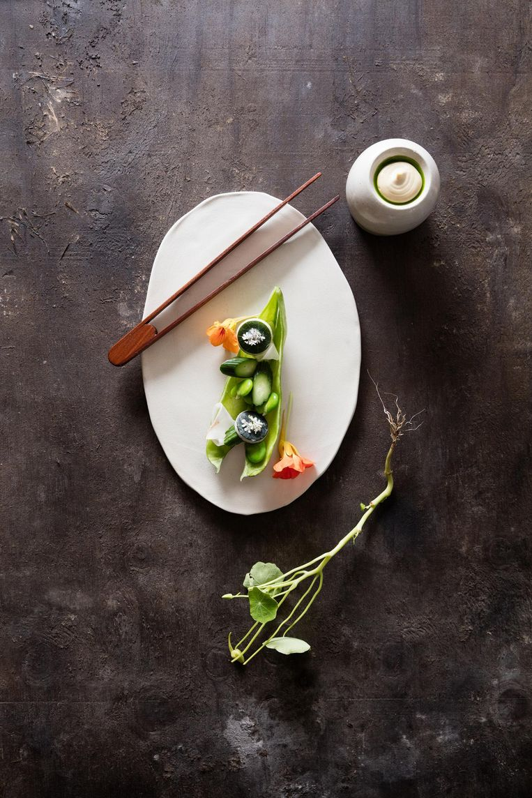 Een van de gerechten in het boek.