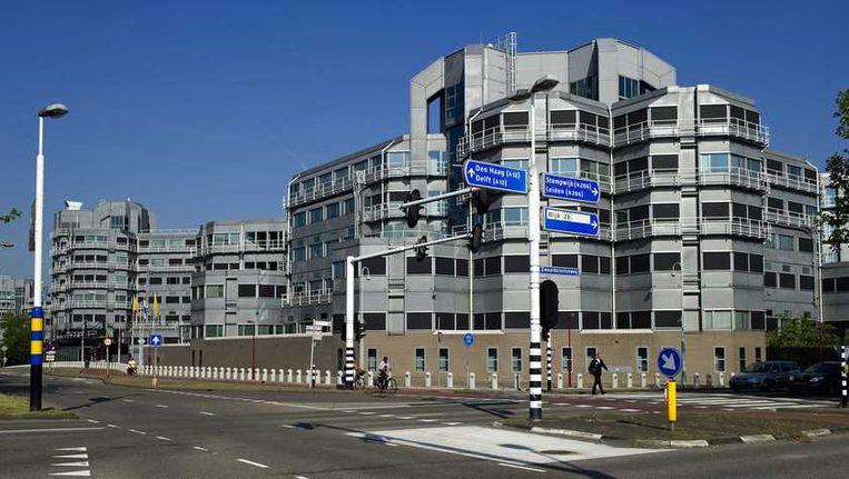 Het gebouw van de AIVD in Zoetermeer Beeld anp