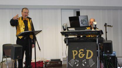 Twintigste zangavond met Piet en Daniel