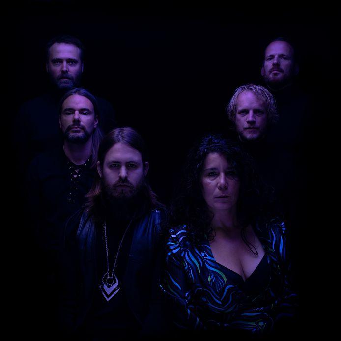 Zangeres Farida Lemouchi en 'haar' band Molassess: 'We waren allemaal toe aan een nieuwe stap'.