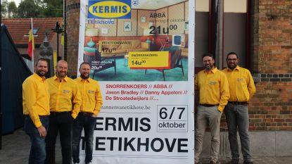 ABBA en Snorrenkoers op  Kermis 't Etikhove