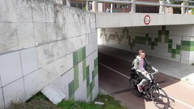 Tegelwerk fietstunnel Goes sneuvelt door constructiefout