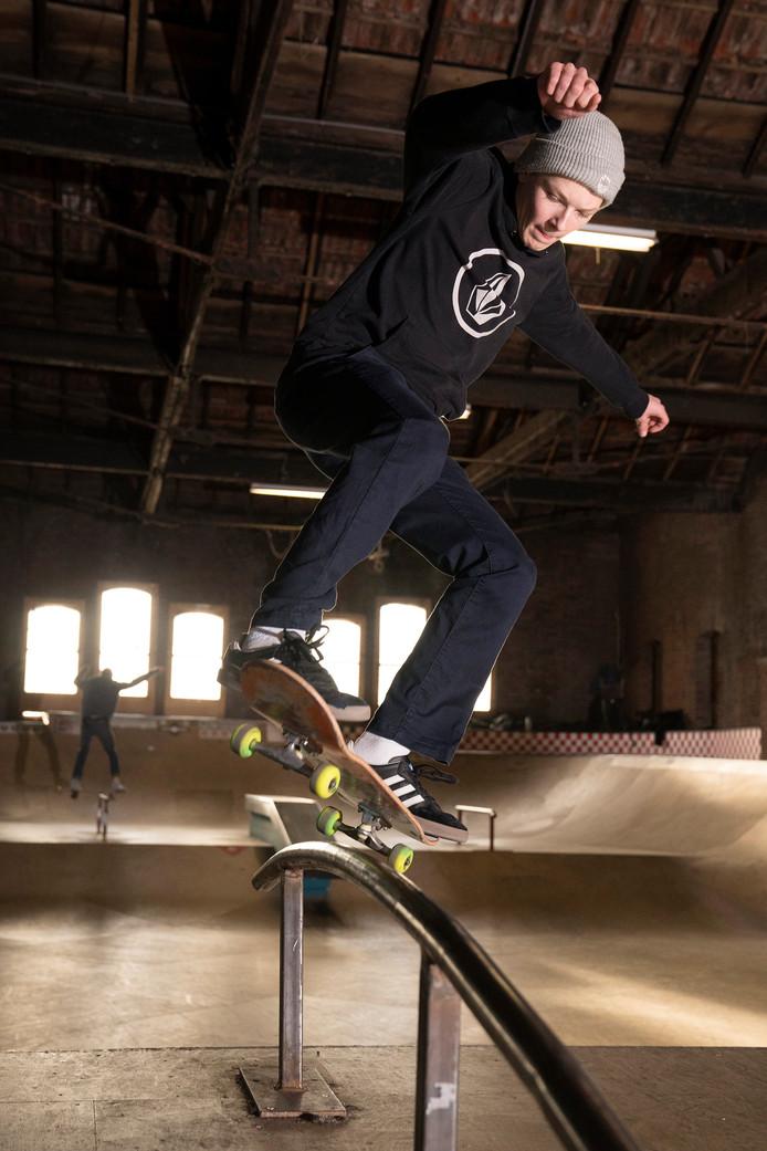 Den Bosch 16-02-18  World Skate Center: David Bekker   Roy Lazet