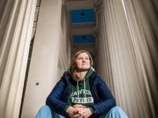 Sportief zit Zwolse schaatsster Lotte in de lift, al moet ze alles op de fiets doen tegenwoordig