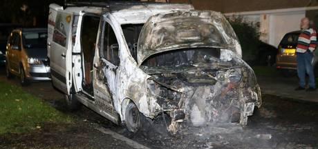 VIDEO: Opnieuw autobrand in Den Bosch; derde in één week