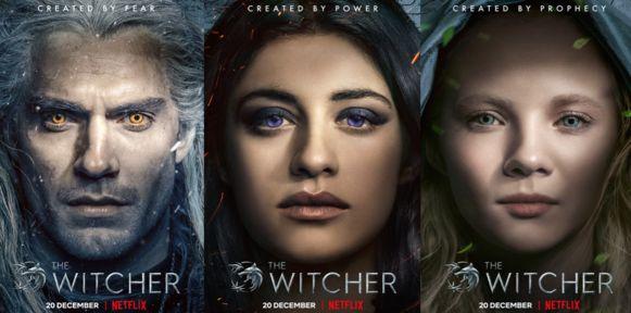 Ontmoet de drie hoofdpersonages van 'The Witcher'.