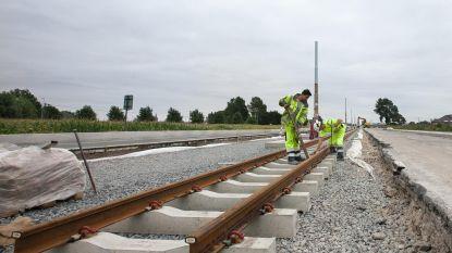 Werken aan tramtraject Lombardsijde op schema