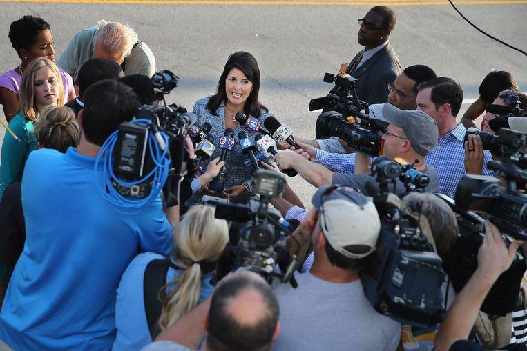 Gouverneur Nikki Haley pleit voor de doodstraf.