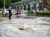 Tilburgse straat overstroomt door kapotte waterleiding