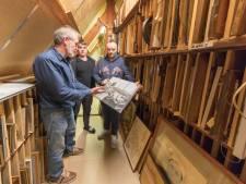 Elk hoekje van het museum in Sint-Annaland wordt gebruikt om stukken op te slaan